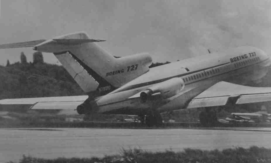 727 first takeoff