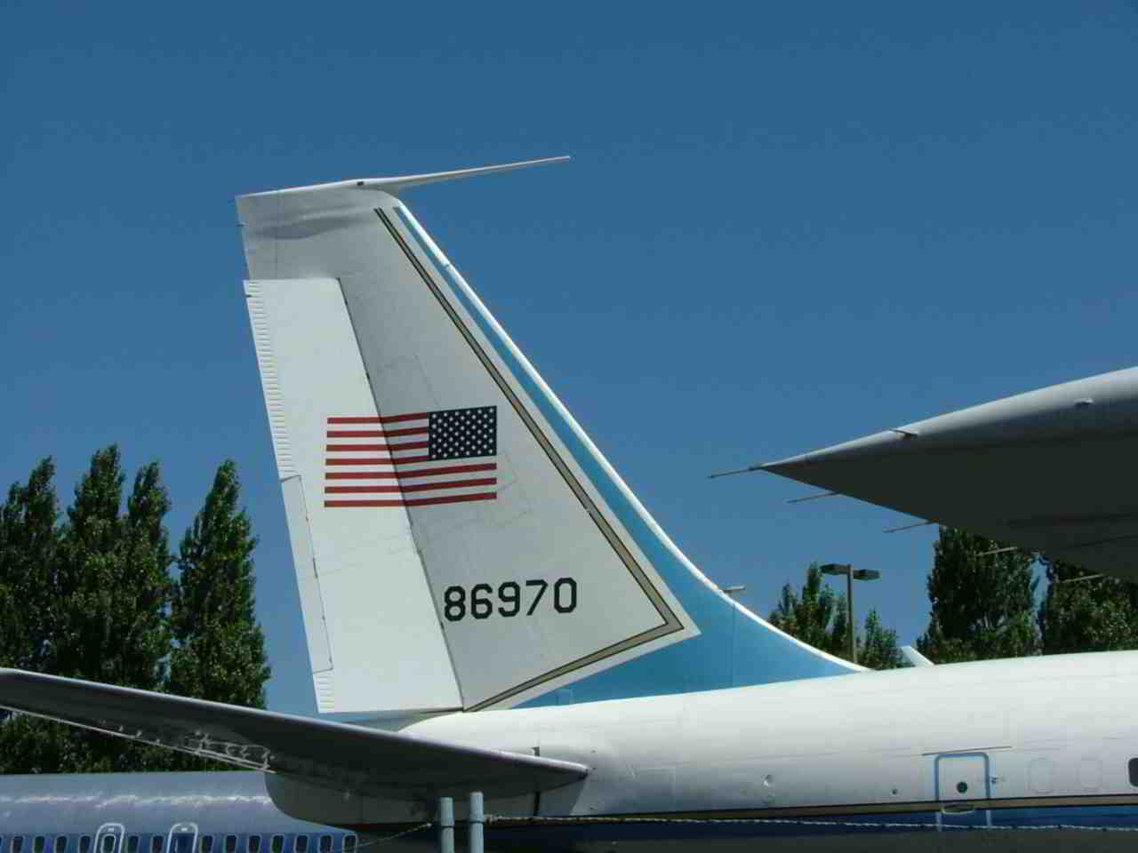 Air Force One VC-137B 58-6970