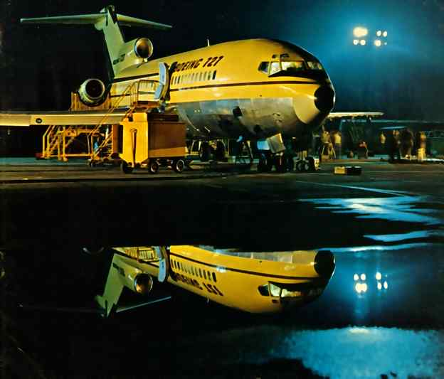 The night before the First Flight.  8 Feb 1963
